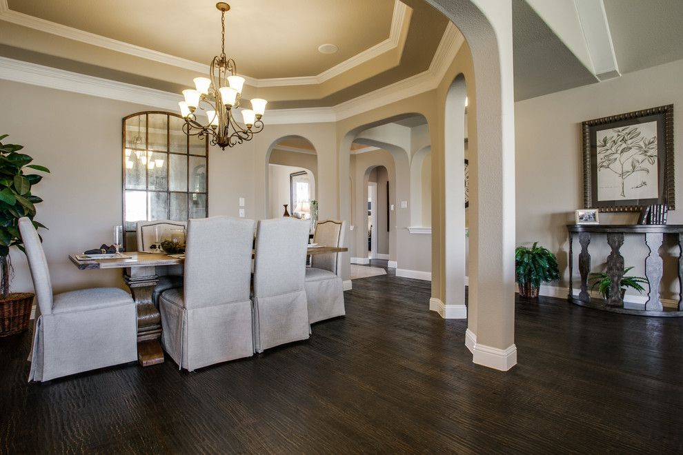 Dunhill Homes for a Contemporary Dining Room with a Contemporary and Willow Ridge Estates by Dunhill Homes
