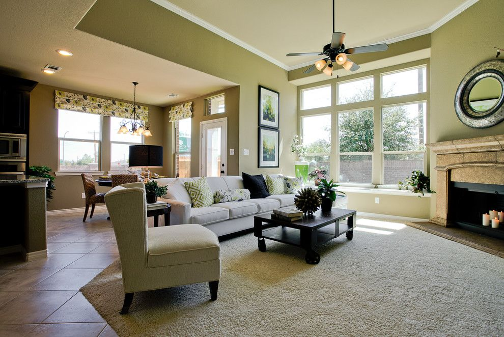 Dunhill Homes for a Contemporary Living Room with a Contemporary and Ridgeview Farms by Dunhill Homes