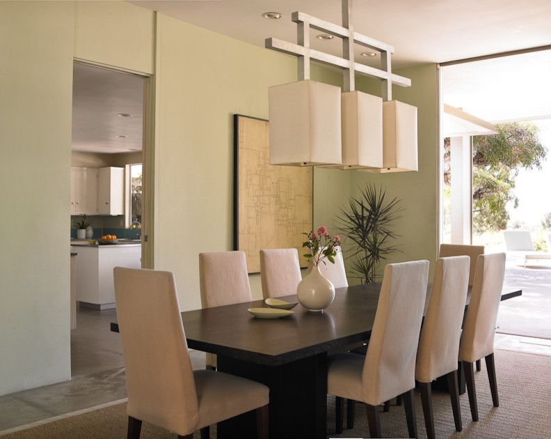 Dunn Edwards Paint for a Beach Style Dining Room with a Area Rugs and Coastal Modern by Dunn Edwards Paints