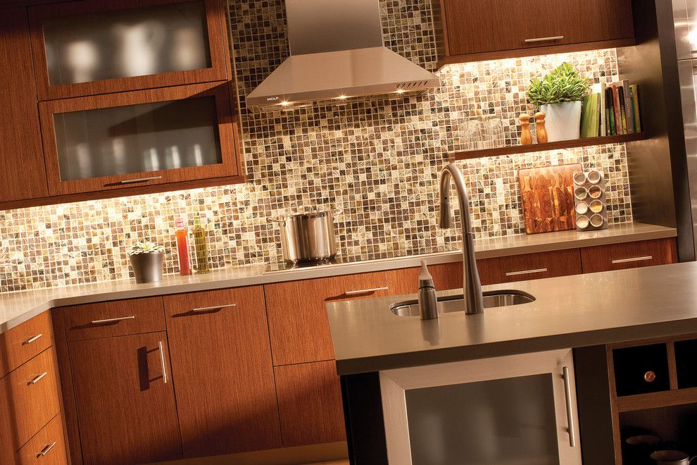 Dura Supreme Cabinets for a Contemporary Kitchen with a American and Urban Loft Living Kitchen by Dura Supreme Cabinetry by Dura Supreme Cabinetry