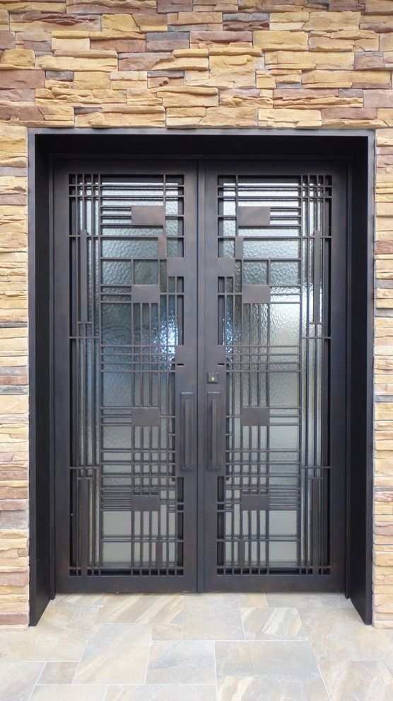 Durango Doors for a Contemporary Entry with a Contemporary Entry Doors and Contemporary Doors by Durango Doors of Houston