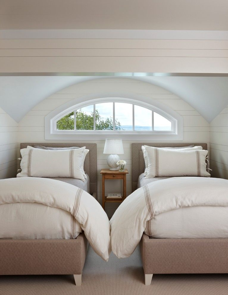 Duvet Cover Definition for a Traditional Bedroom with a Neutral Colors and Traditional Bedroom by Cottage company.com