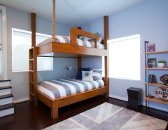 Duvet Definition for a Contemporary Kids with a Pipe Shelf and Memorial Park Modern by Laura U, Inc.