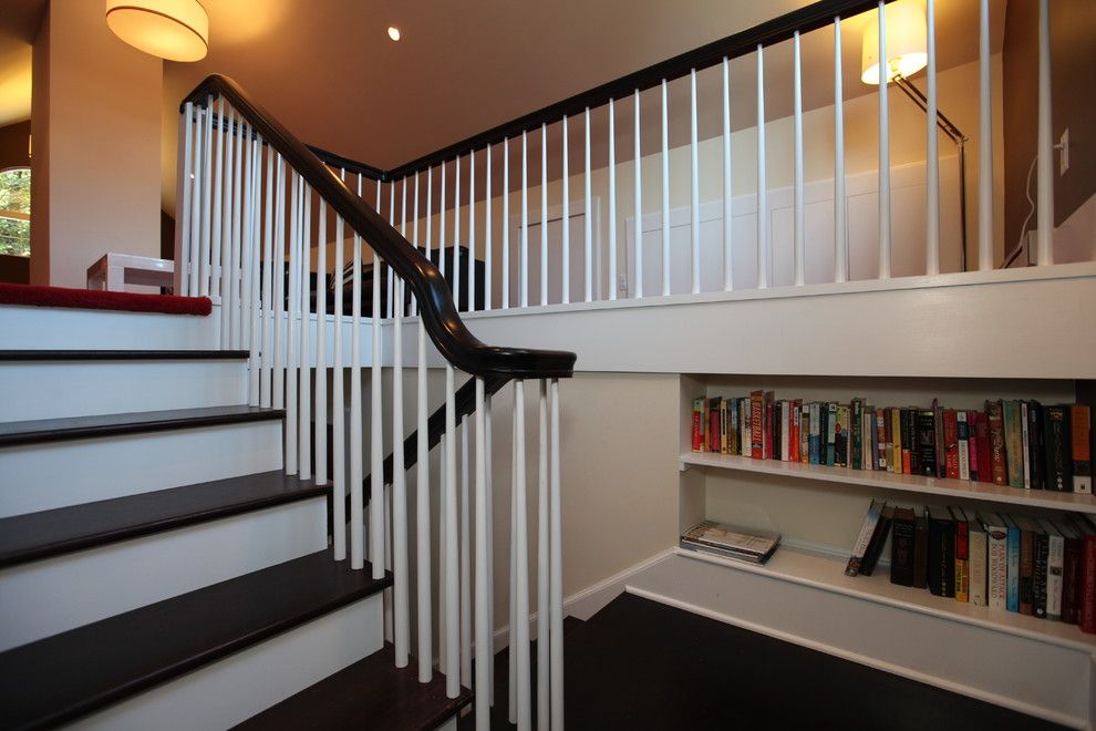 Dykes Lumber for a Traditional Staircase with a Built in and Verona Remodel by Cbh Architects