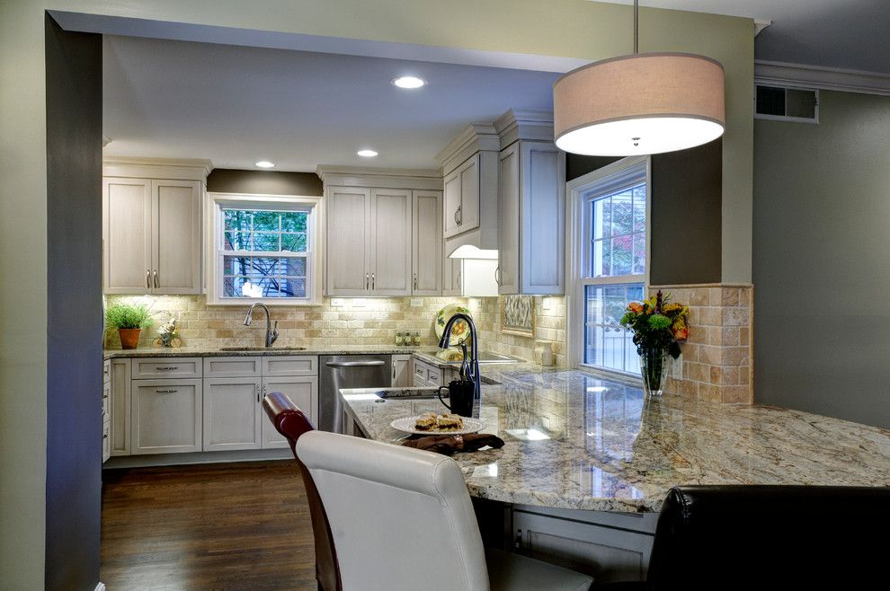 Dynasty Cabinets for a Traditional Kitchen with a Painted and Glazed Cabinets and Painted Kitchen 1 by Courtney Burnett