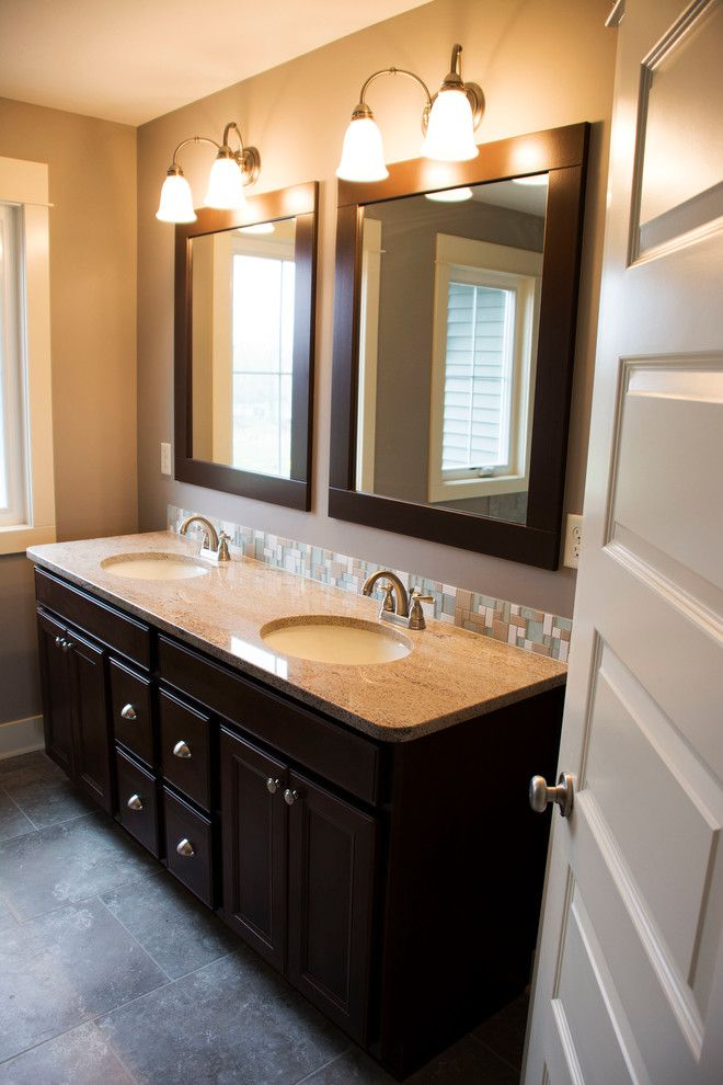 Eastbrook Homes for a Traditional Bathroom with a Design and Lowing Woods by Eastbrook Homes
