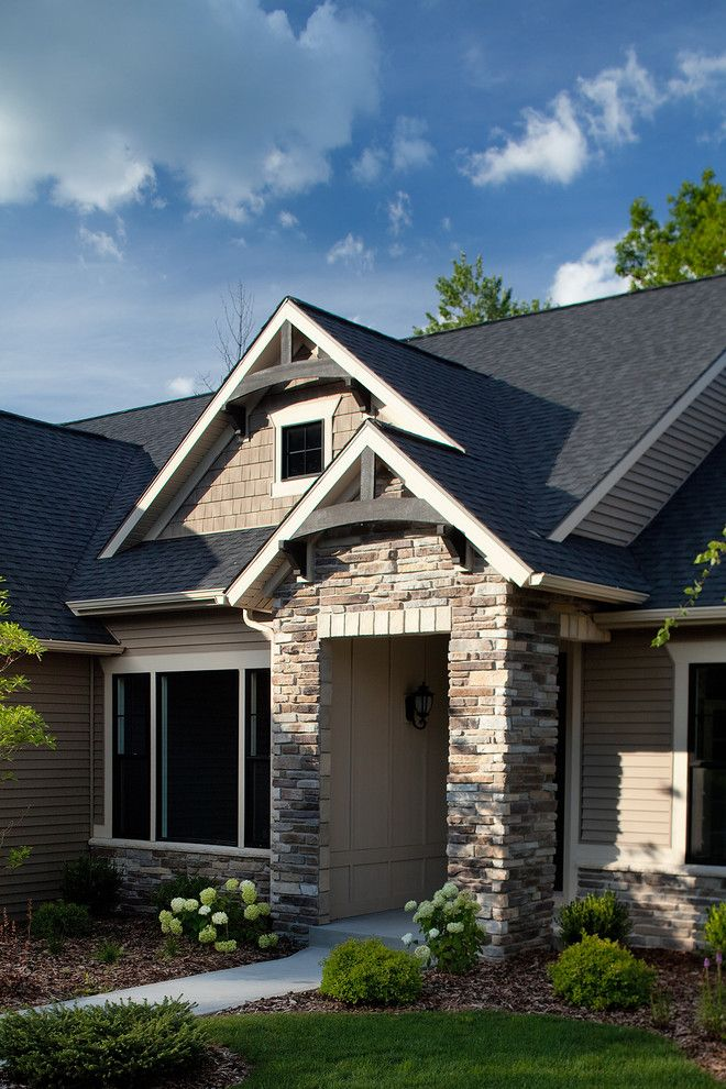 Eastbrook Homes for a Traditional Exterior with a Front Doors and Front Elevations by Eastbrook Homes