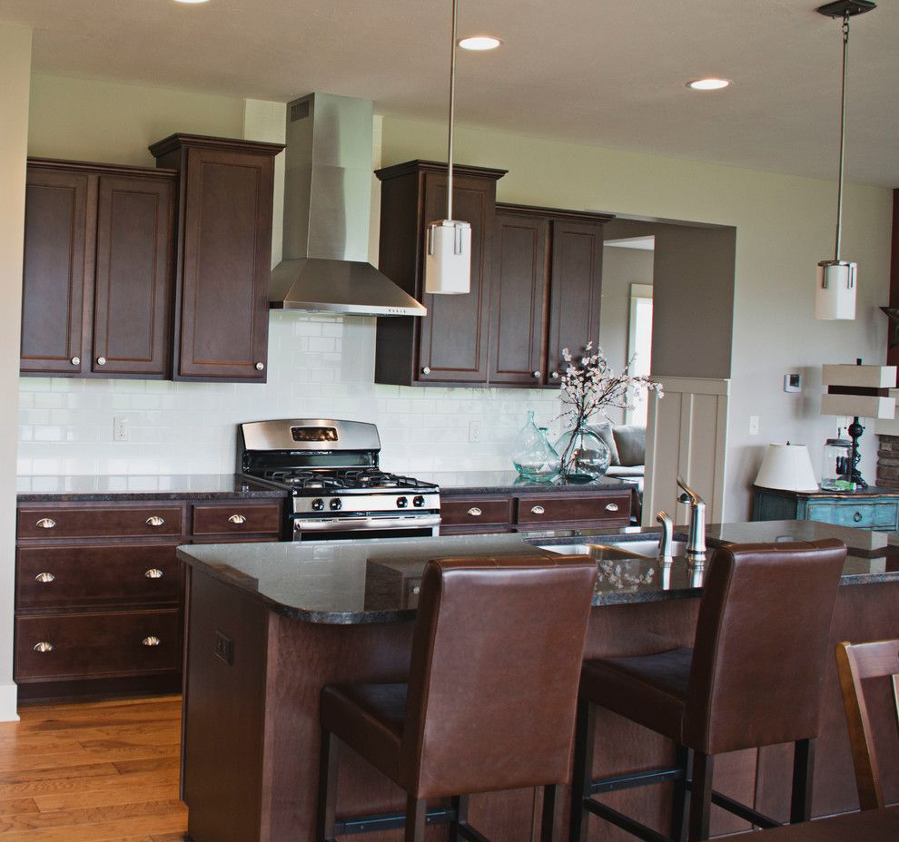 Eastbrook Homes for a Traditional Kitchen with a Eastbrook and Lowing Woods by Eastbrook Homes