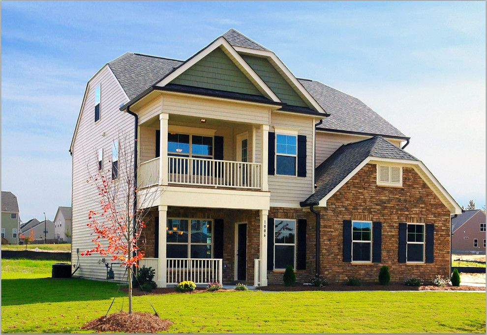 Eastwood Homes for a Traditional Exterior with a New Homes Xeastwood Homes Xnew Homes Greensboro Nc Xhigh and Exterior Options with Eastwood Homes! by Eastwood Homes  Triad, Nc