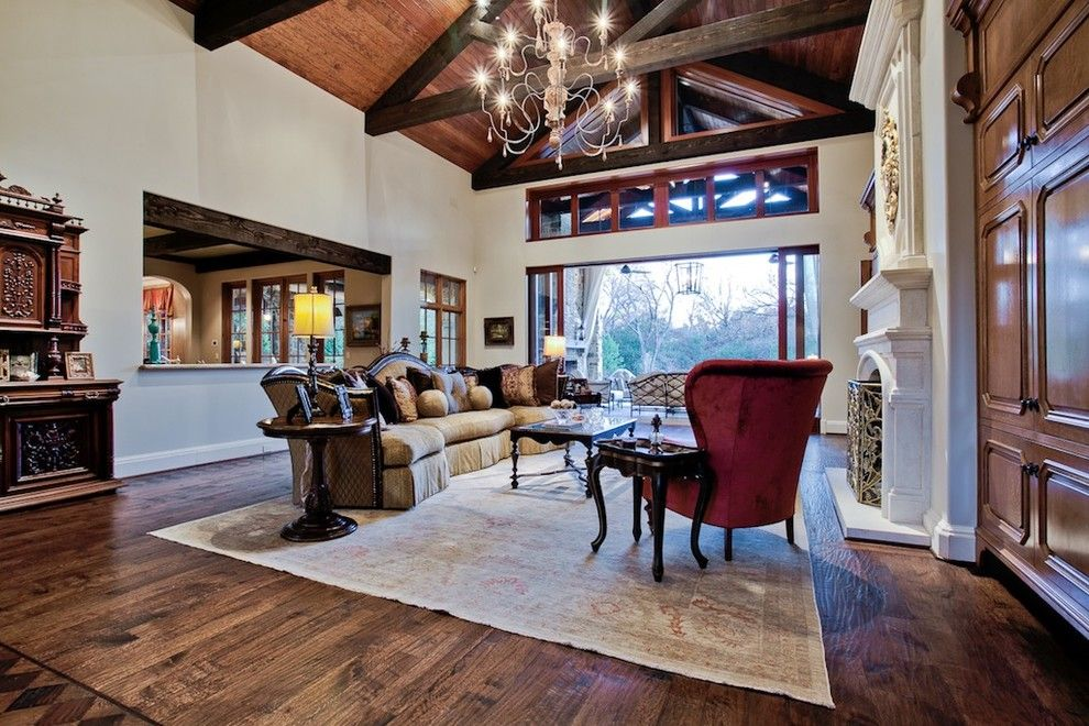Ebby Halliday Plano for a Traditional Living Room with a Traditional and Michael Molthan Luxury Homes Great Rooms and Family Rooms by Michael Molthan Luxury Homes