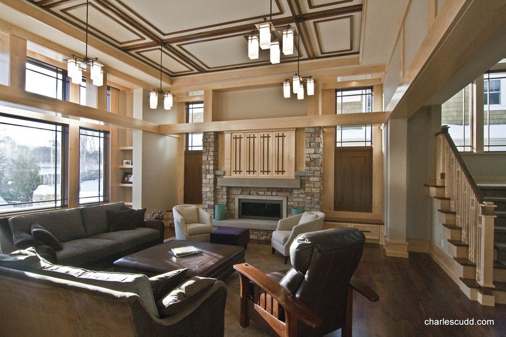 Eden Prairie Theater for a  Spaces with a  and Modern Prairie by John Deering Theater Design, Inc