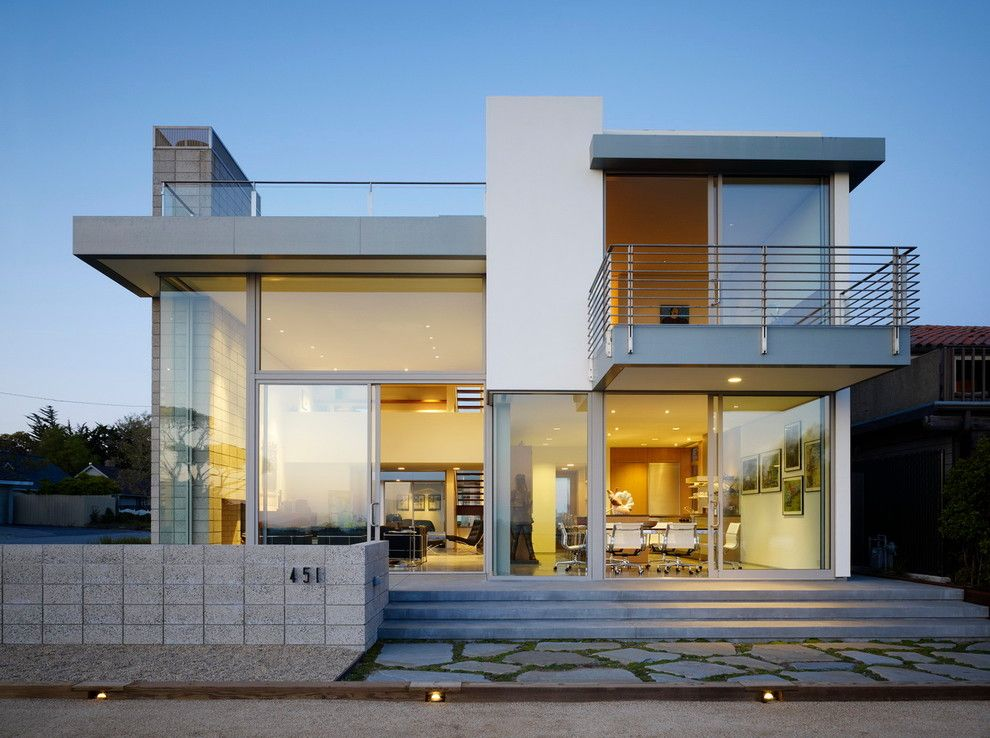 Ehrlich Architects for a Modern Exterior with a Flat Roof and Zeidler Residence by Ehrlich Architects