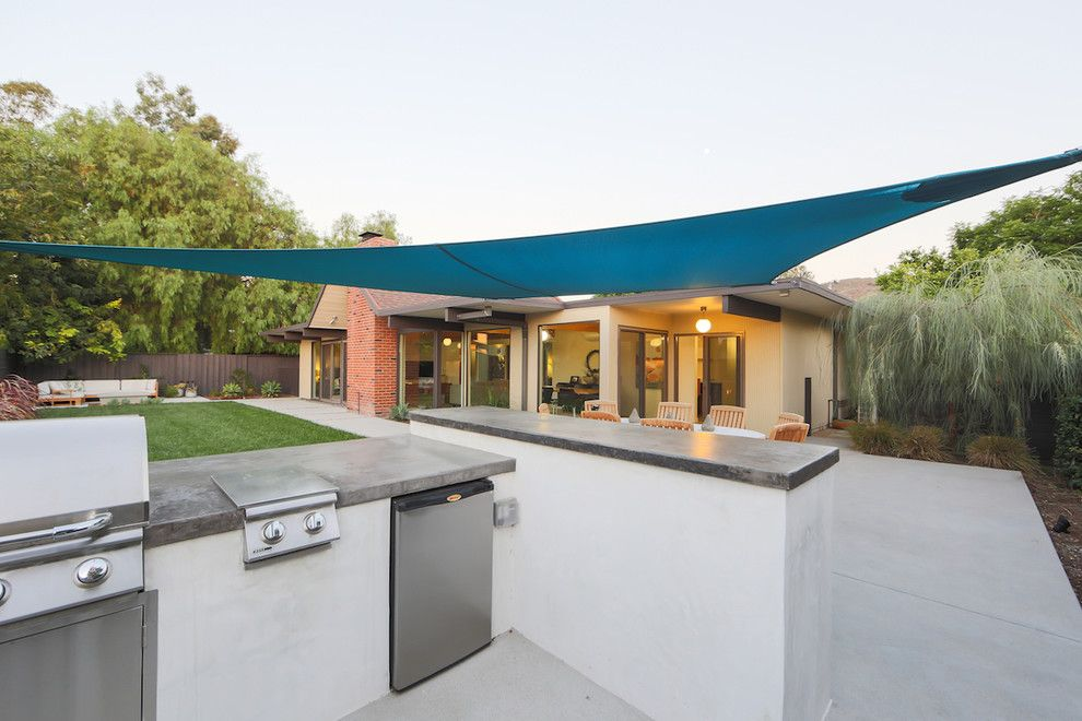 Eichler Homes for a Midcentury Patio with a Eichler and Jones and Emmons Eichler Home by Better Living Socal