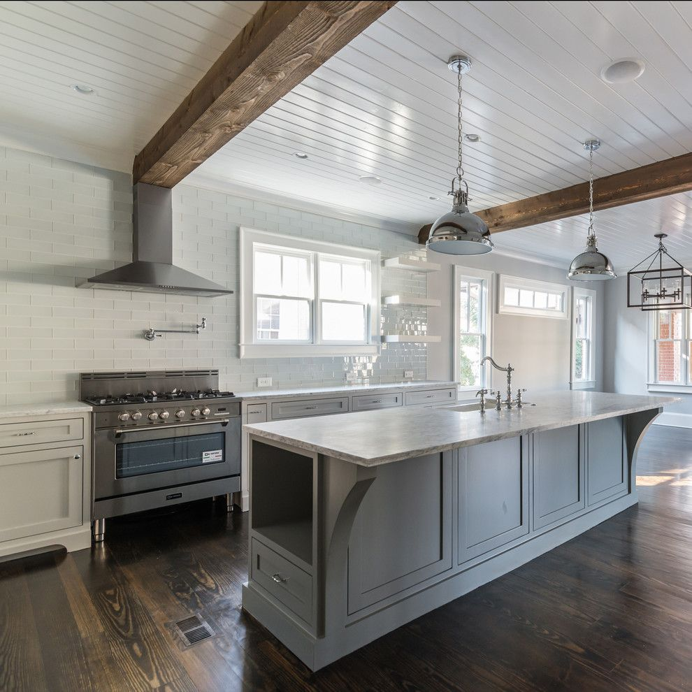 Electric Schoolhouse for a Modern Kitchen with a Pot Filler and the Verona 36