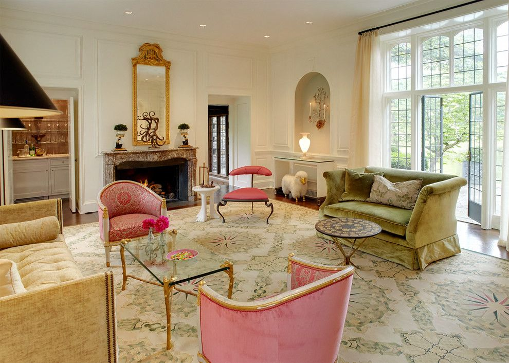 Ellsworth Ford for a Modern Living Room with a Modern and Living Rooms by Ellsworth Ford Associates