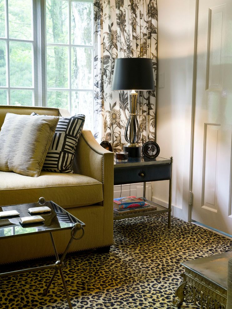 Ellsworth Ford for a Traditional Family Room with a Cozy and Family Rooms by Ellsworth Ford Associates