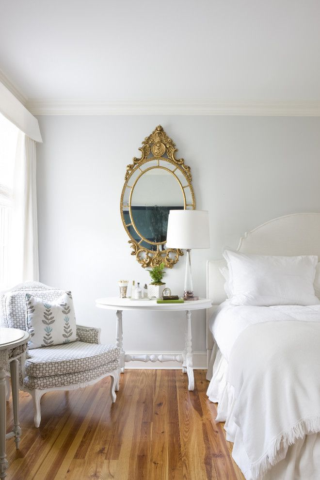 Eloquence Furniture for a Traditional Bedroom with a White Bedding and Coming Home by Ivy Lane Living