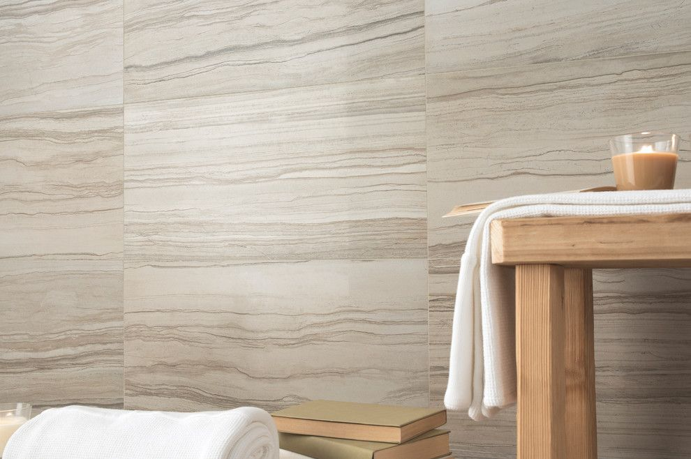 Emser Tile for a Contemporary Bathroom with a Glazed and Emser Tile  Motion Series by Emser Tile