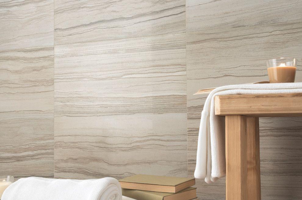 Emser Tile for a Contemporary Bathroom with a Glazed and Emser Tile  Motion Series by Emser Tile