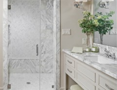 Emser Tile for a Traditional Bathroom with a Mosaic Tiles and Southern Living Showcase by Emser Tile