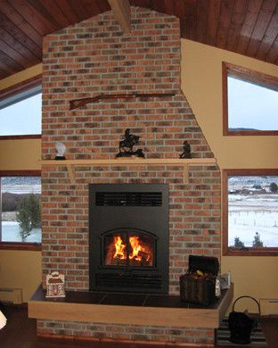Endicott Brick for a Traditional Living Room with a Brick It and Brick It Examples by Brick It