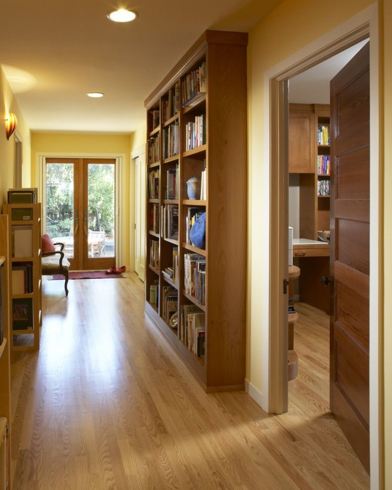 Engineered hardwood vs solid hardwood for a contemporary hal.