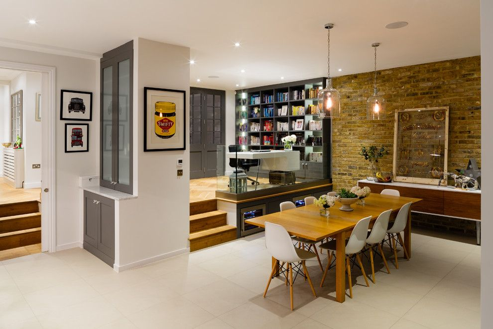 Eplans for a Contemporary Dining Room with a Dining Table and Contemporary Dining Room by Granit.co.uk