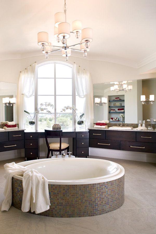 Estridge Homes for a Contemporary Bathroom with a Contemporary and Interiors by Estridge Homes