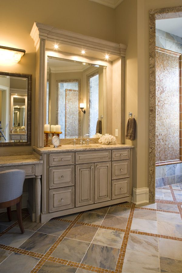 Estridge Homes for a Traditional Bathroom with a Traditional and Interiors by Estridge Homes