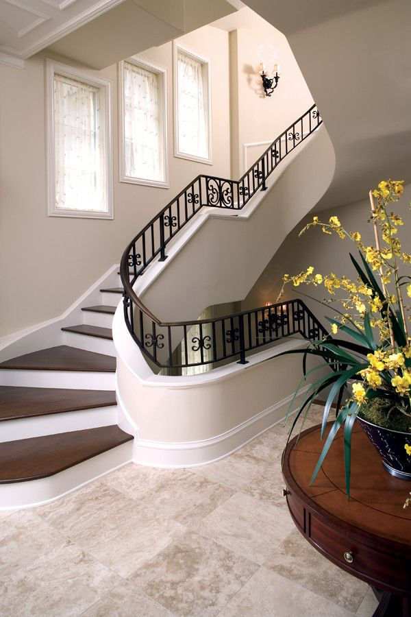 Estridge Homes for a Traditional Staircase with a Traditional and Interiors by Estridge Homes