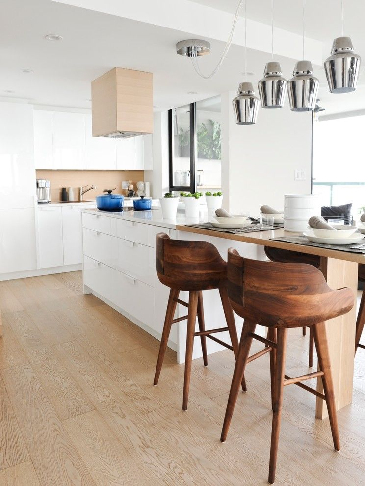 Eureka Lighting for a Modern Kitchen with a Accessories and West 2nd Street, North Vancouver by Gaile Guevara