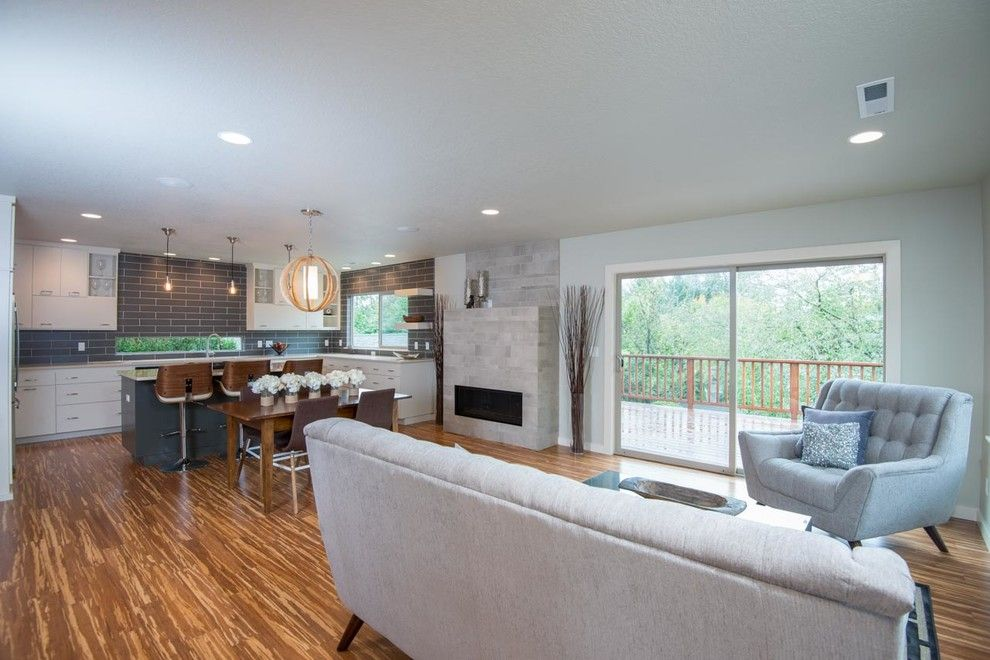 Evergreene Homes for a Modern Spaces with a Condo and Sw Moss Loft by Evergreen Homes