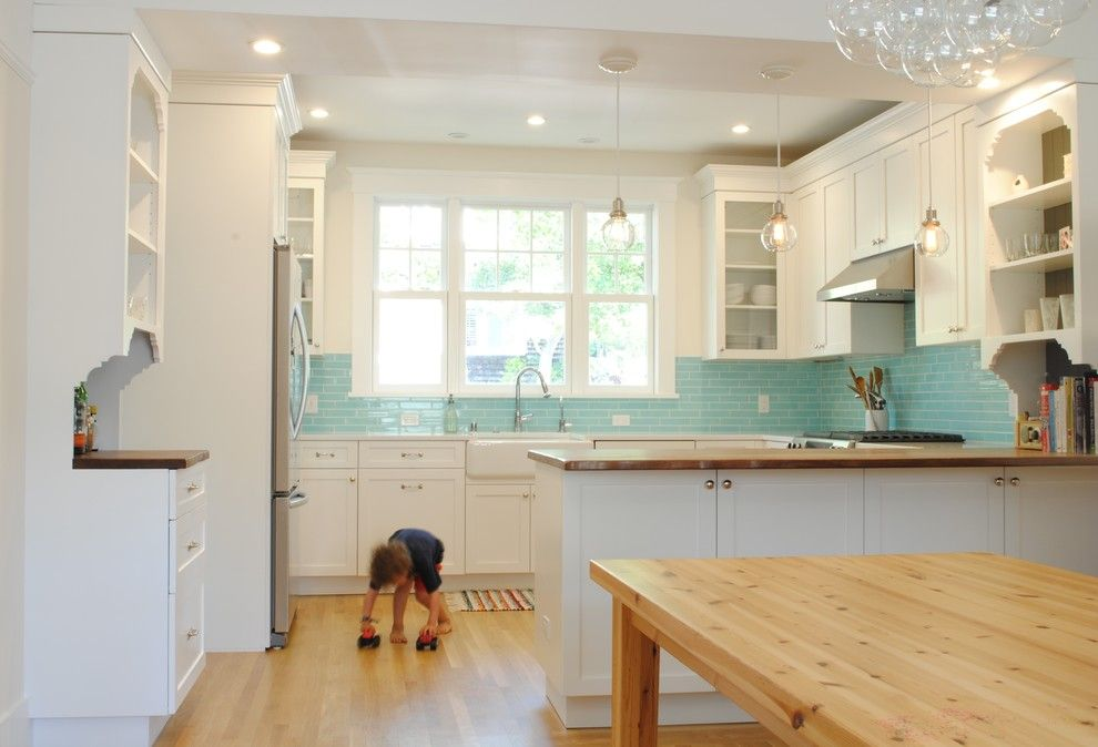 Executive Cabinetry for a Traditional Kitchen with a Ecohome Improvement and North Berkeley Kitchen Remodel by Ecohome Improvement