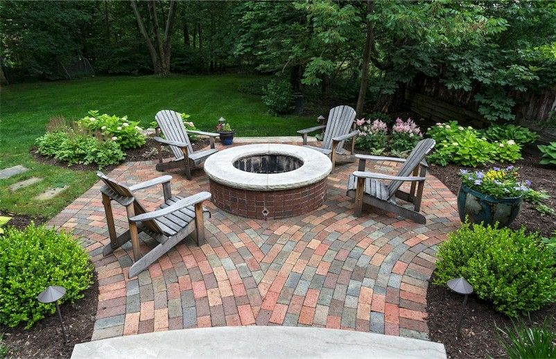 Exscape for a Traditional Patio with a Landscape Architect and Fire Pits/places by Exscape Designs