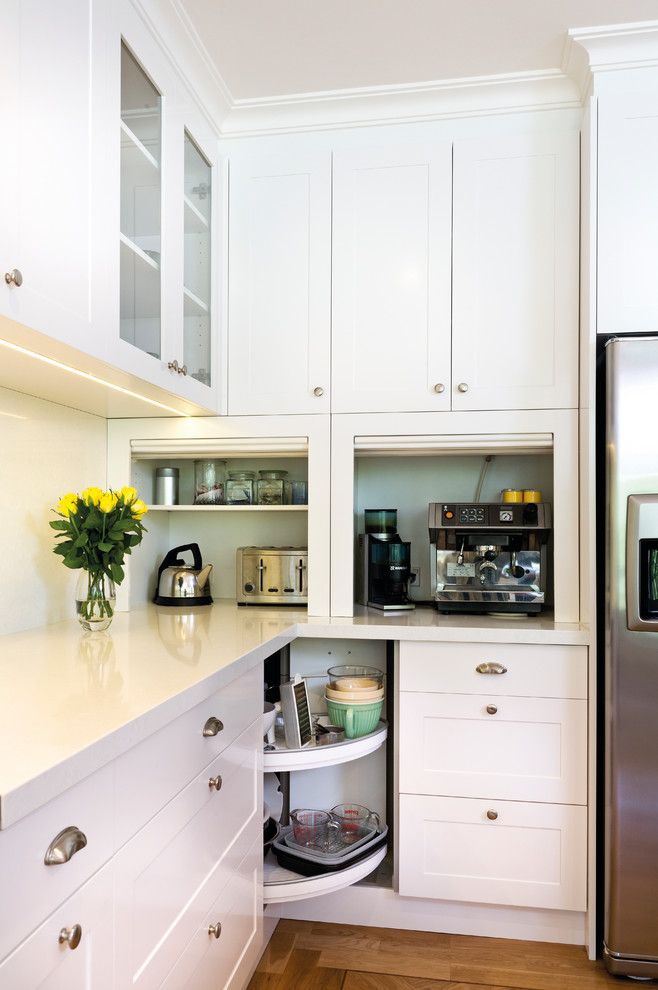Factory Direct Appliance for a Transitional Kitchen with a Stainless Steel and Warrandyte by Kitchens by Peter Gill