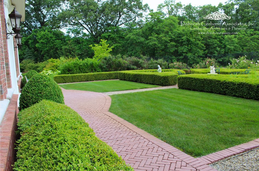 Fairway Lawns for a Traditional Spaces with a Manor Home and Fairway Manor Home by Deborah Cerbone Associates, Inc.