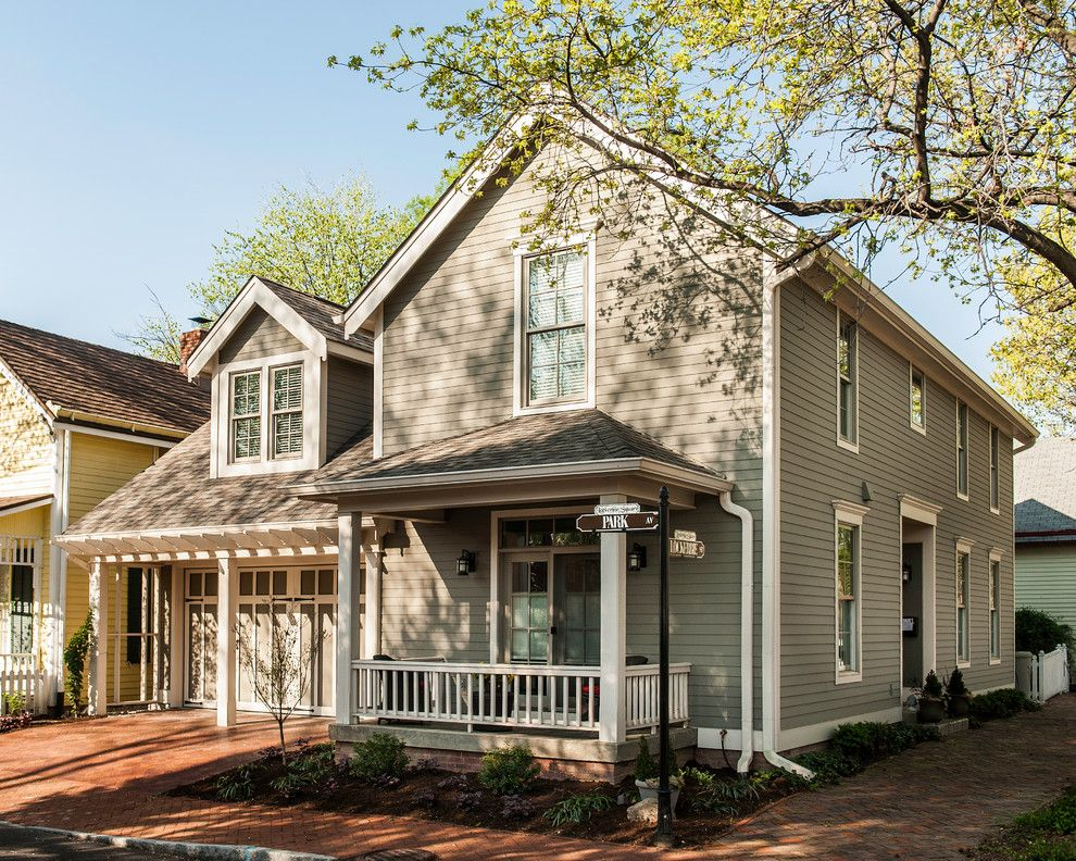Family Leisure Indianapolis for a Traditional Exterior with a Gutters and Ch Residence by the Redevelopment Group