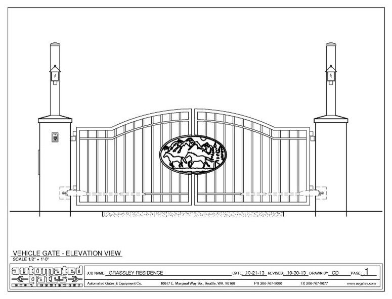 Farmington Valley Equipment for a  Spaces with a Entrance and Maple Valley Project by Automated Gates & Equipment
