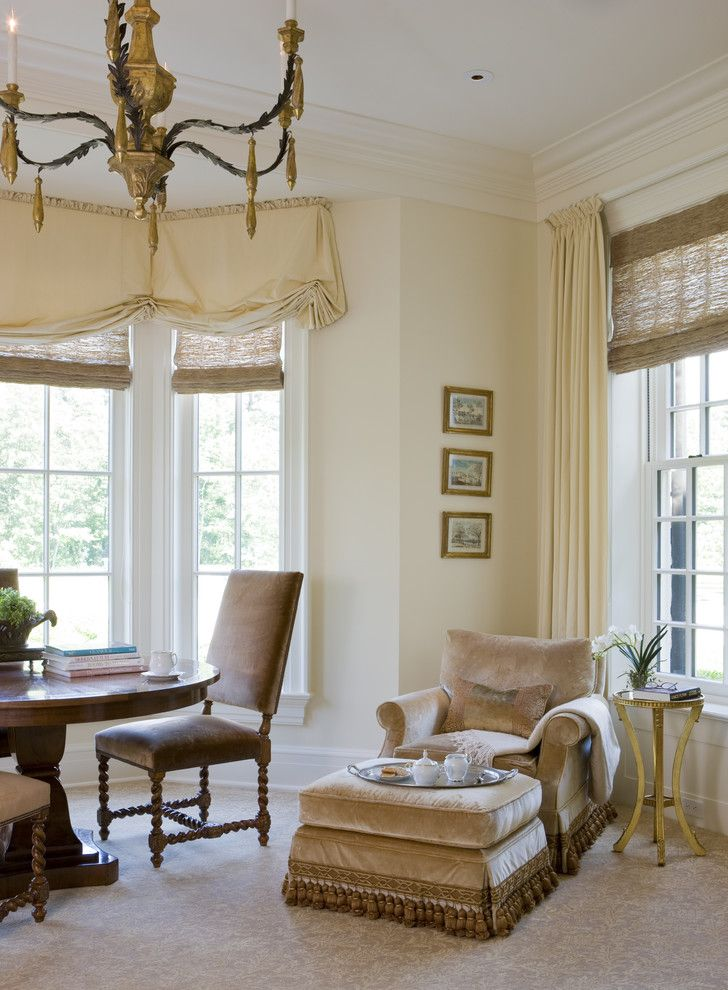 Farrow and Ball Nyc for a Traditional Living Room with a Gold Accents and Weston Residence by Slc Interiors