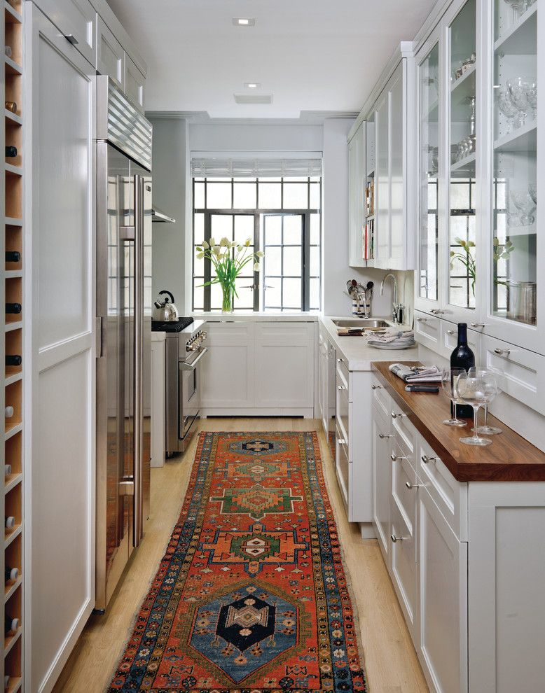 Farrow and Ball Nyc for a Transitional Kitchen with a Restoration and El Dorado by Best & Company
