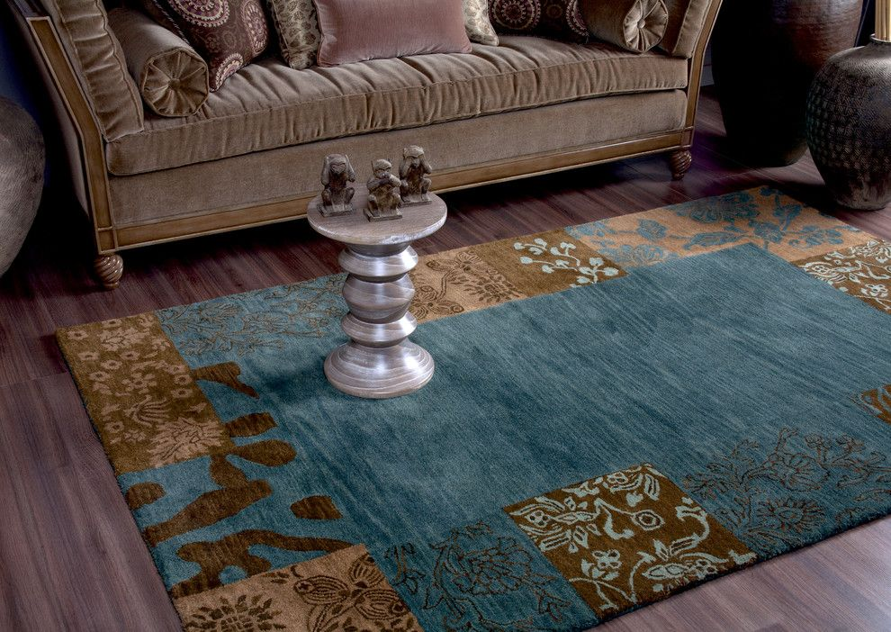 Feizy for a Traditional Living Room with a Traditional and Feizy Rugs by Feizy Rugs