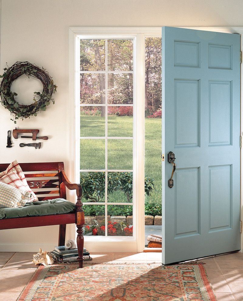Feldco for a Traditional Spaces with a Windows and Entryway: Picture Window by Feldco Windows, Siding and Doors