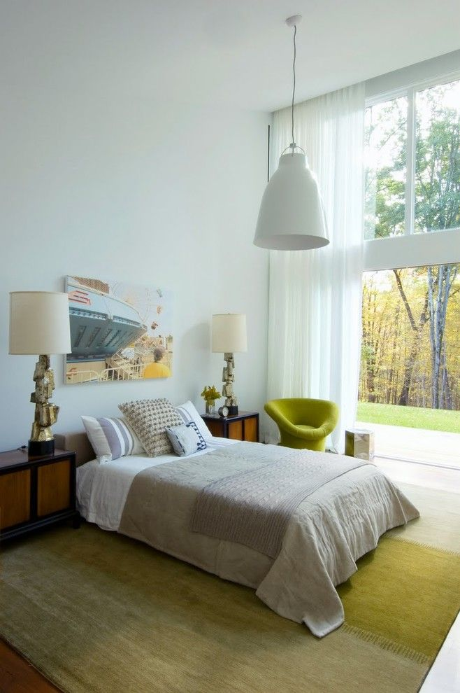 Feng Shui Bedroom for a Eclectic Bedroom with a Bed Pillows and Texas Hill House Bedroom by Incorporated