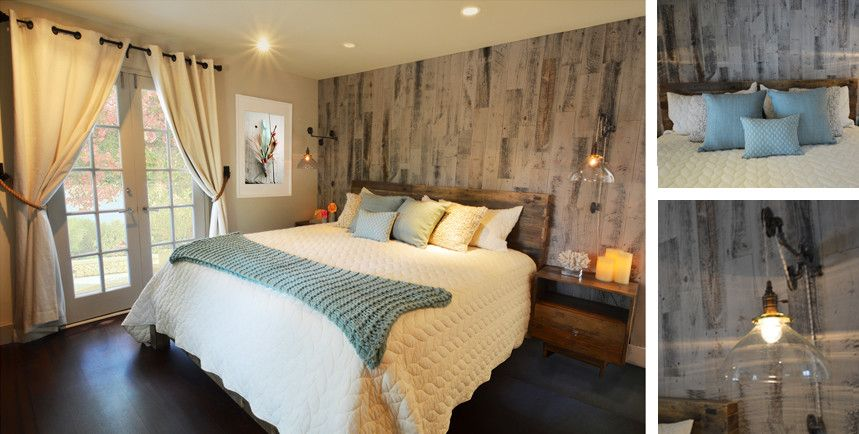 Feng Shui Bedroom for a Rustic Bedroom with a Modern Farmhouse and Rustic Modern Master Bedroom by Kim Colwell Design