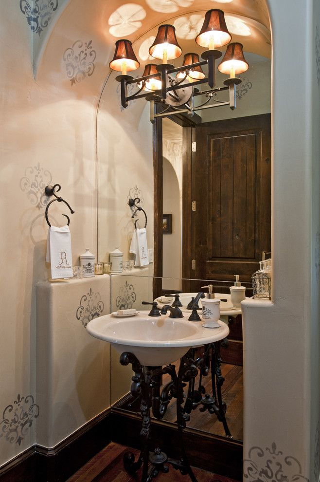 Ferguson Plumbing Supplies for a Mediterranean Bathroom with a Wood ...