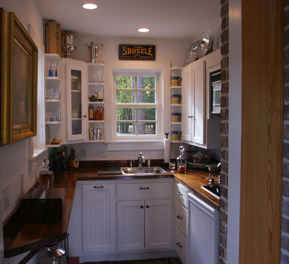 Ferguson Plumbing Supplies for a Traditional Kitchen with a Adirondack and Copp Boat House by Gerald D. Cowart, Aia, Leed  Ap