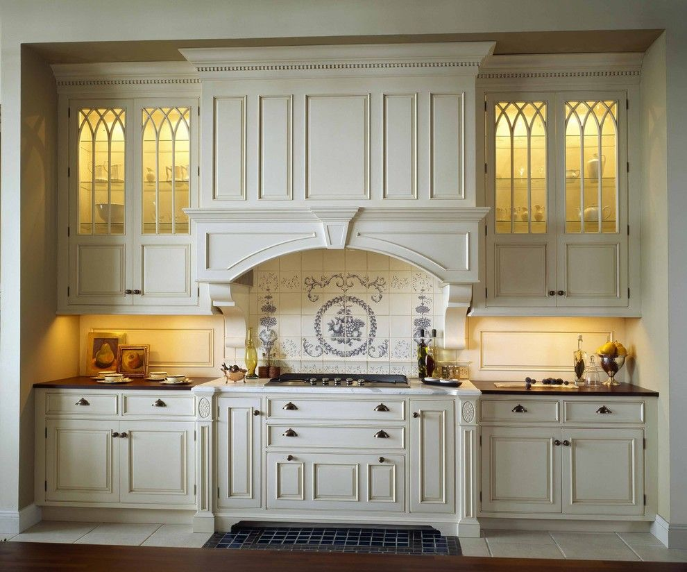 Fiesta Factory Direct for a Traditional Kitchen with a Bump Out and Old Mill by Venegas and Company
