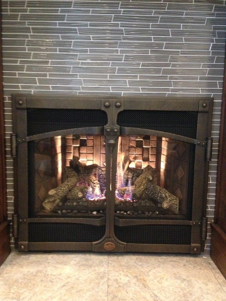 Fireplace Xtrordinair for a Traditional Spaces with a Iron Works Doors and Fireplacextrordinair 564ho by Croft Sales and Service