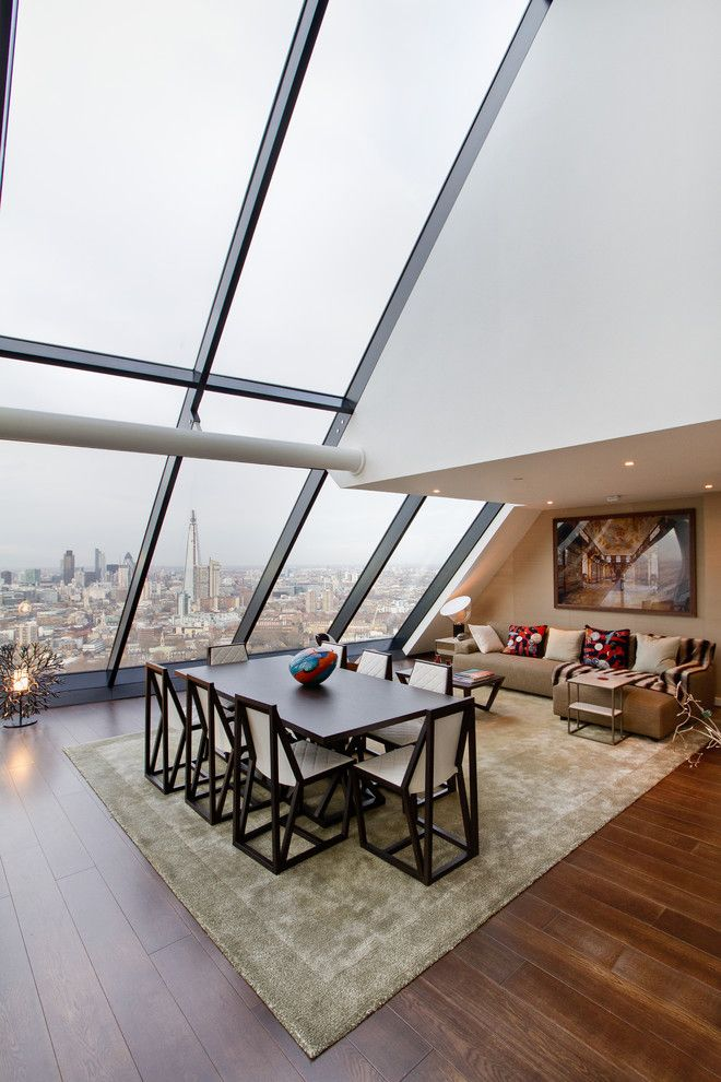 First Apartment Checklist For A Contemporary Dining Room With Open Plan Living And Strata Tower