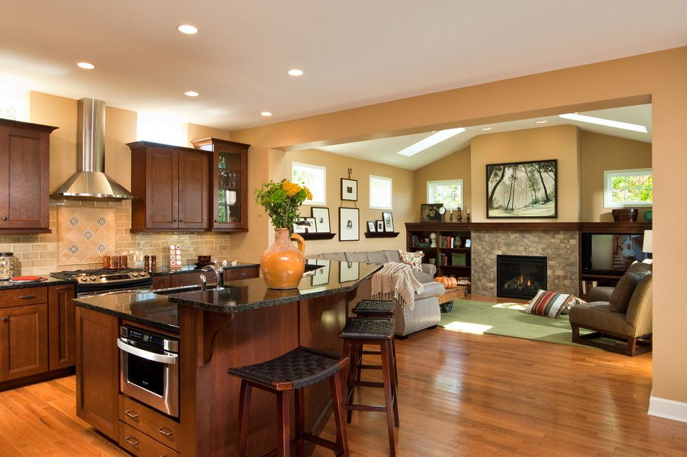 First Apartment Checklist for a Traditional Kitchen with a Ny and 2012 Saratoga Showcase Home by Belmonte Builders